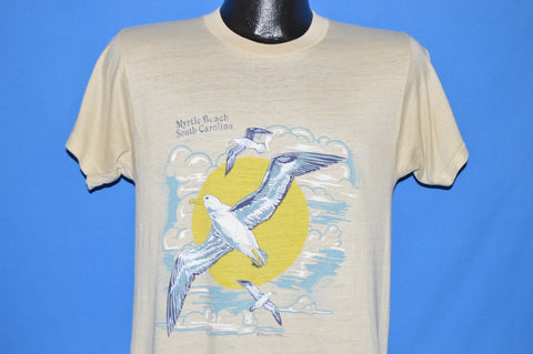 70s Myrtle Beach Seagull Sunset t-shirt Medium