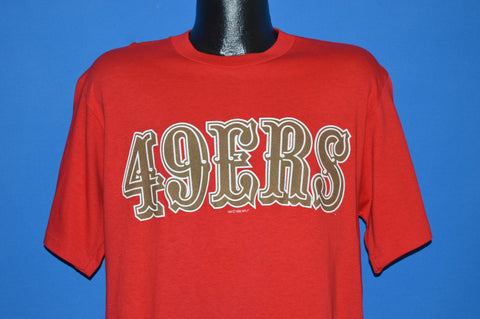 80s San Francisco 49ers Steve Young t-shirt Medium