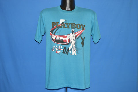 80s Playboy After Dark TV Show Hugh Hefner t-shirt Medium