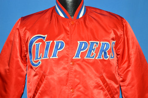 80s Los Angeles Clippers NBA Starter Snap Up Jacket Small