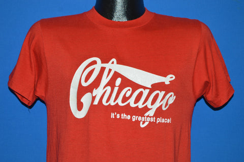 80s Chicago Coca Cola Logo t-shirt Small