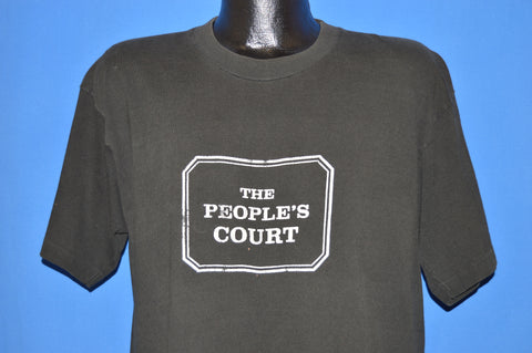 80s The People's Court TV Show t-shirt Extra Large