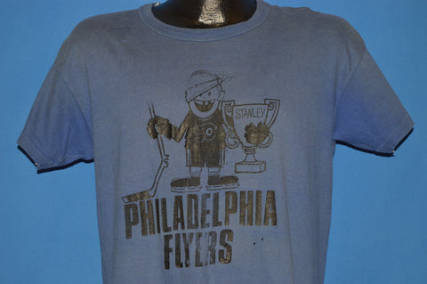 70s Philadelphia Flyers Stanley Cup Distressed t-shirt Large