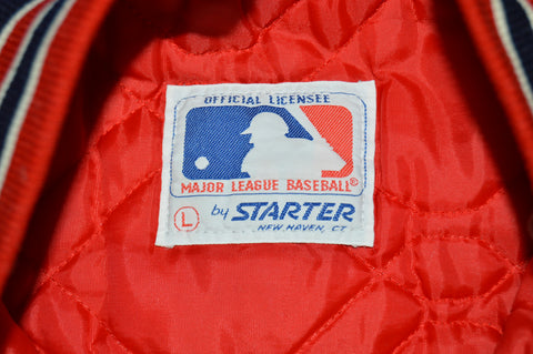 80s Boston Red Sox Starter Snap Up Jacket Large