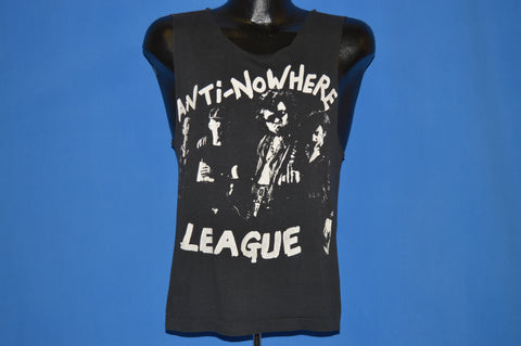 80s Anti-Nowhere League Punk Cut Up t-shirt Small