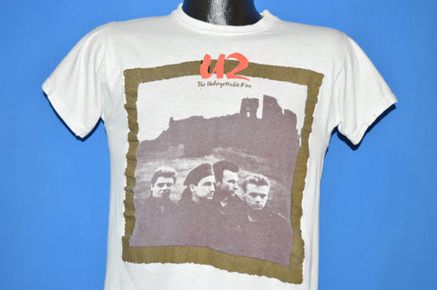 80s U2 Unforgettable Fire Tour 1985 t-shirt Small