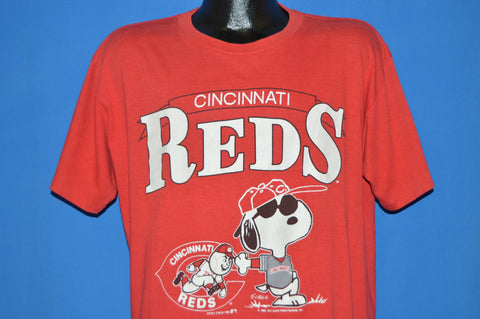 80s Cincinnati Red Snoopy MLB t-shirt Extra Large