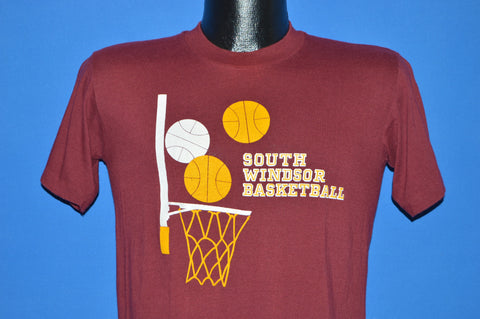 80s South Windsor Basketball t-shirt Small