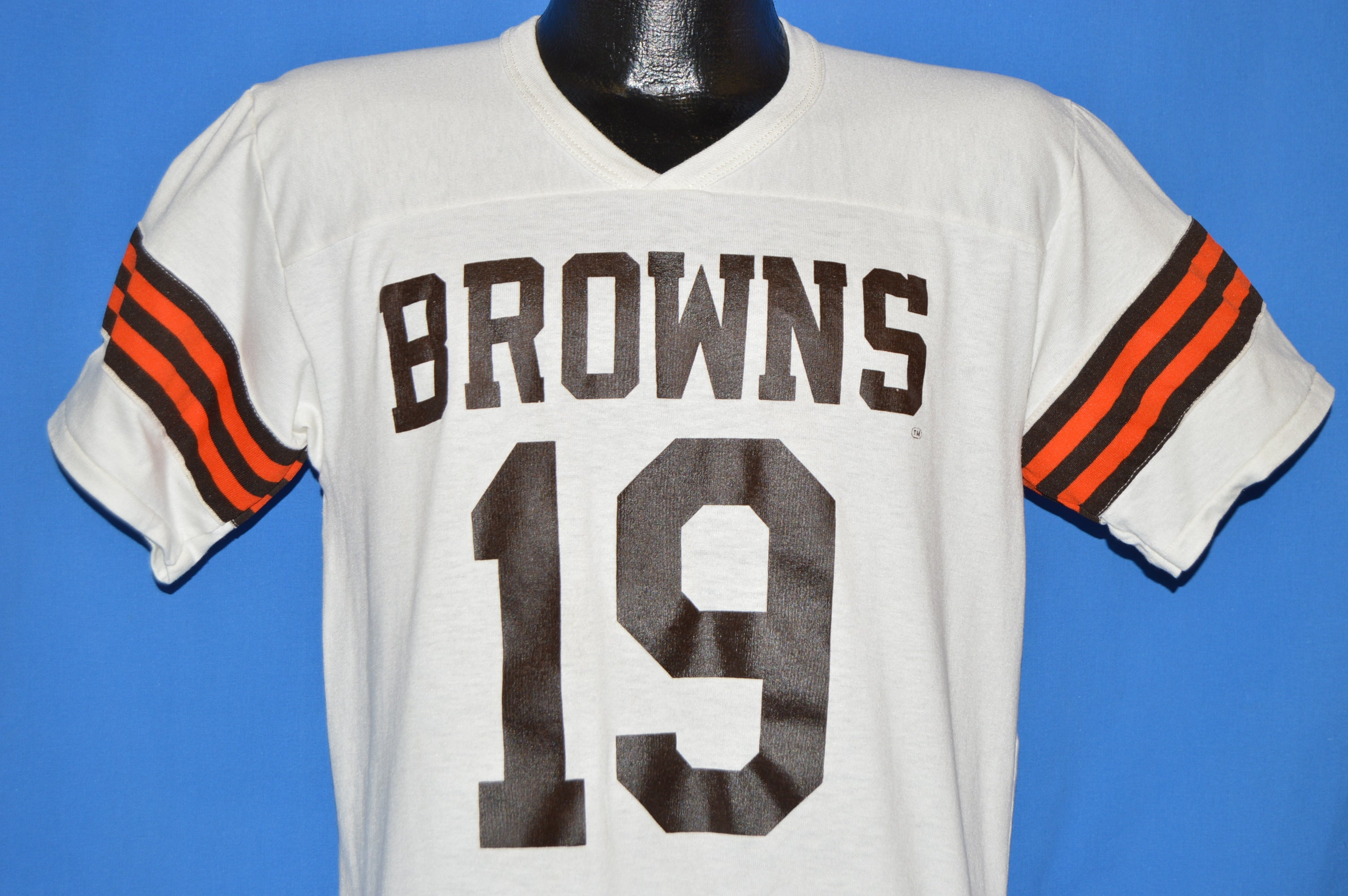 new products 882a8 99318 ... 80s Cleveland Browns 19 Bernie Kosar Jersey t-shirt Medium NFL Nike ...