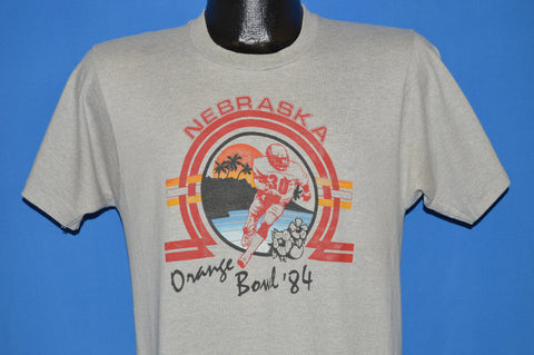 80s Nebraska Corn Huskers Orange Bowl 1984 t-shirt Medium