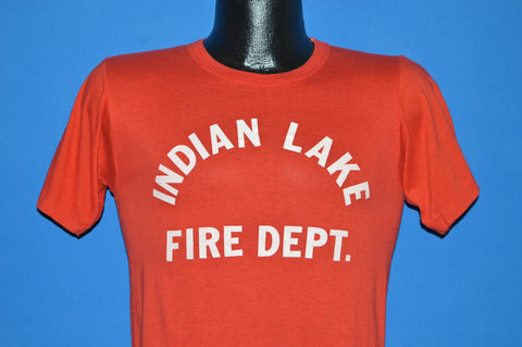 80s Indian Lake Fire Department t-shirt Small