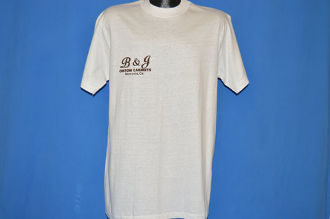 80s B&J Custom Cabinets Monrovia California t-shirt Large
