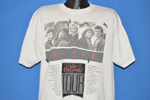 80s Petra On Fire Tour 1988 t-shirt Extra Large