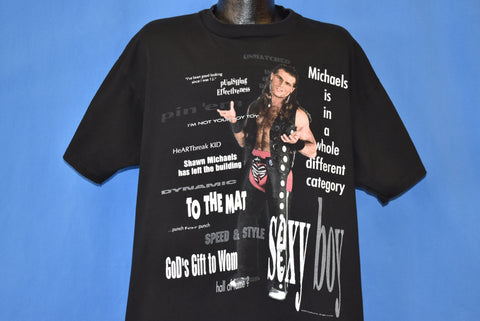 90s Shawn Michaels Catchphrases t-shirt XXL