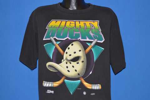 90s Mighty Ducks Disney Movie Logo t-shirt Extra Large