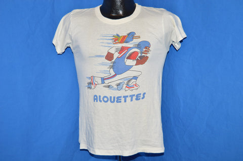 70s Montreal Alouettes Canadian Football t-shirt Small