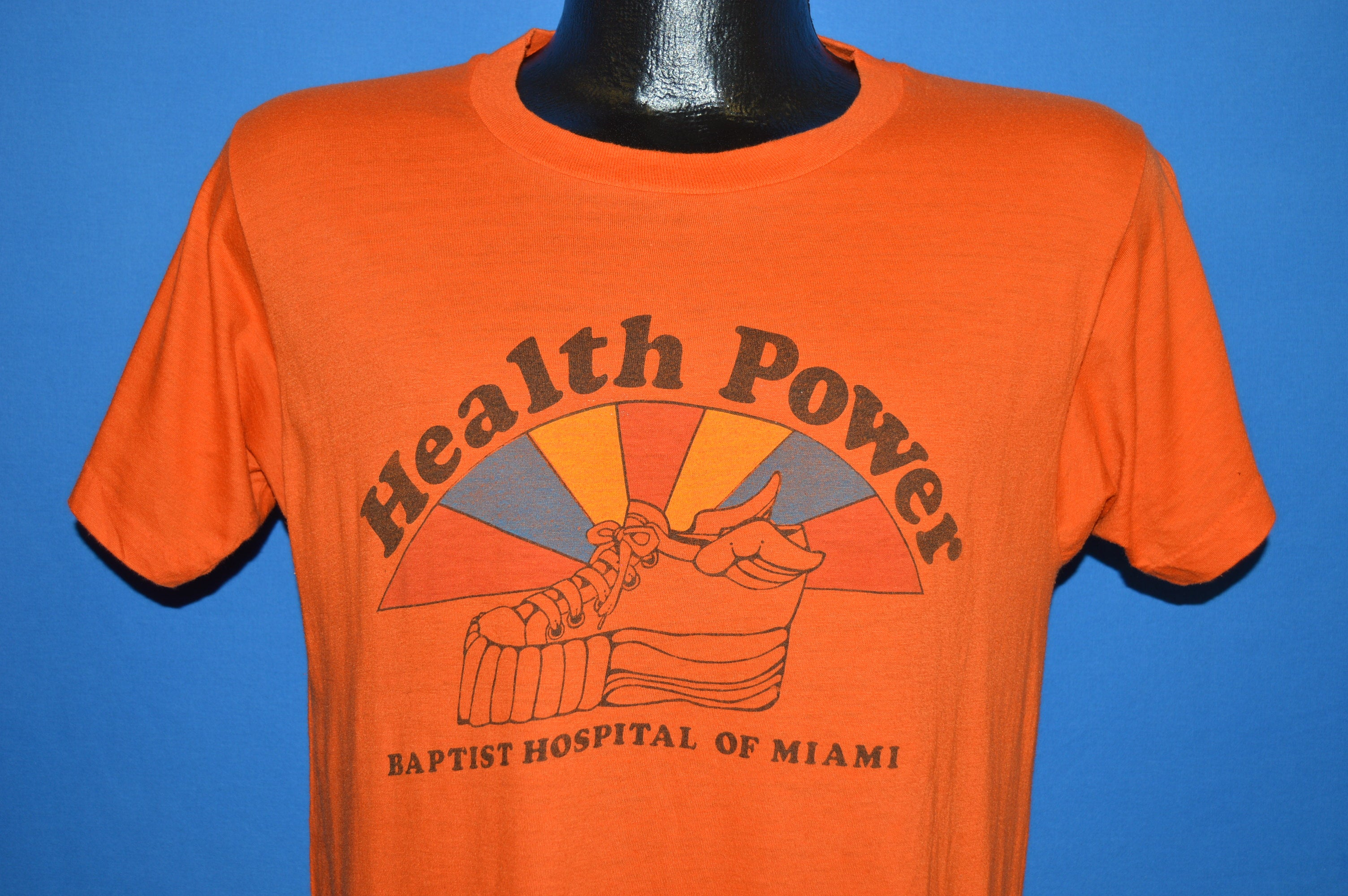 80s Baptist Hospital of Miami t-shirt Medium - The Captains