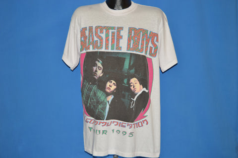 90s Beastie Boys Ill Communication Tour 1995 t-shirt Extra Large