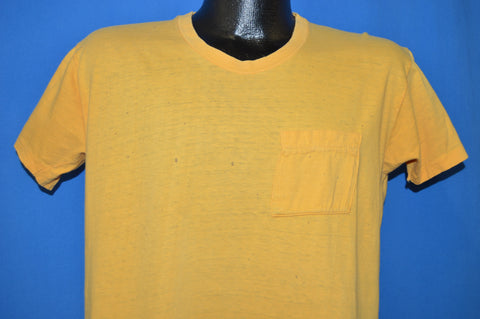 80s Distressed Pocket t-shirt Large