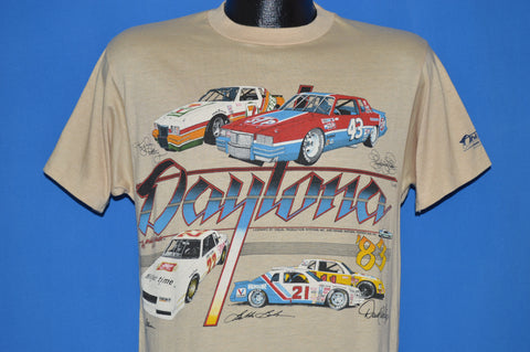 80s Daytona 500 cars 1983 t-shirt Medium