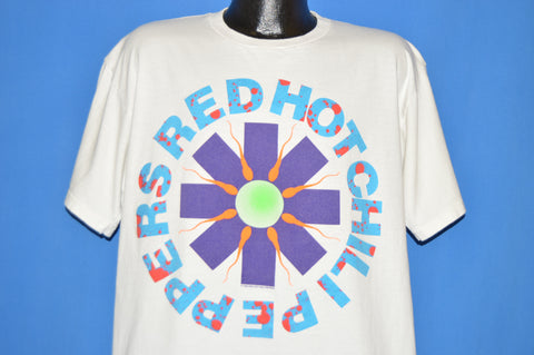 90s Red Hot Chili Peppers Sperm Logo t-shirt Extra Large