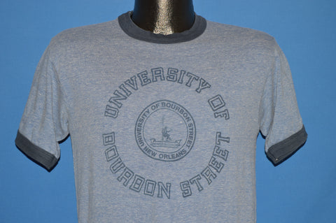 80s University of Bourbon Street Ringer t-shirt Small