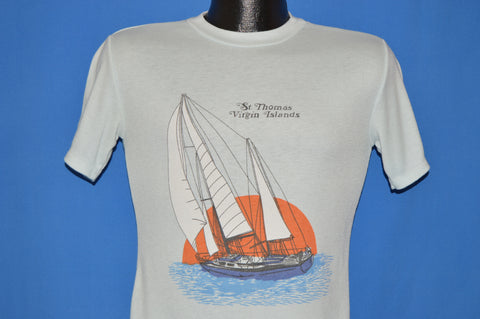 80s St Thomas Virgin Islands Sunset t-shirt Small