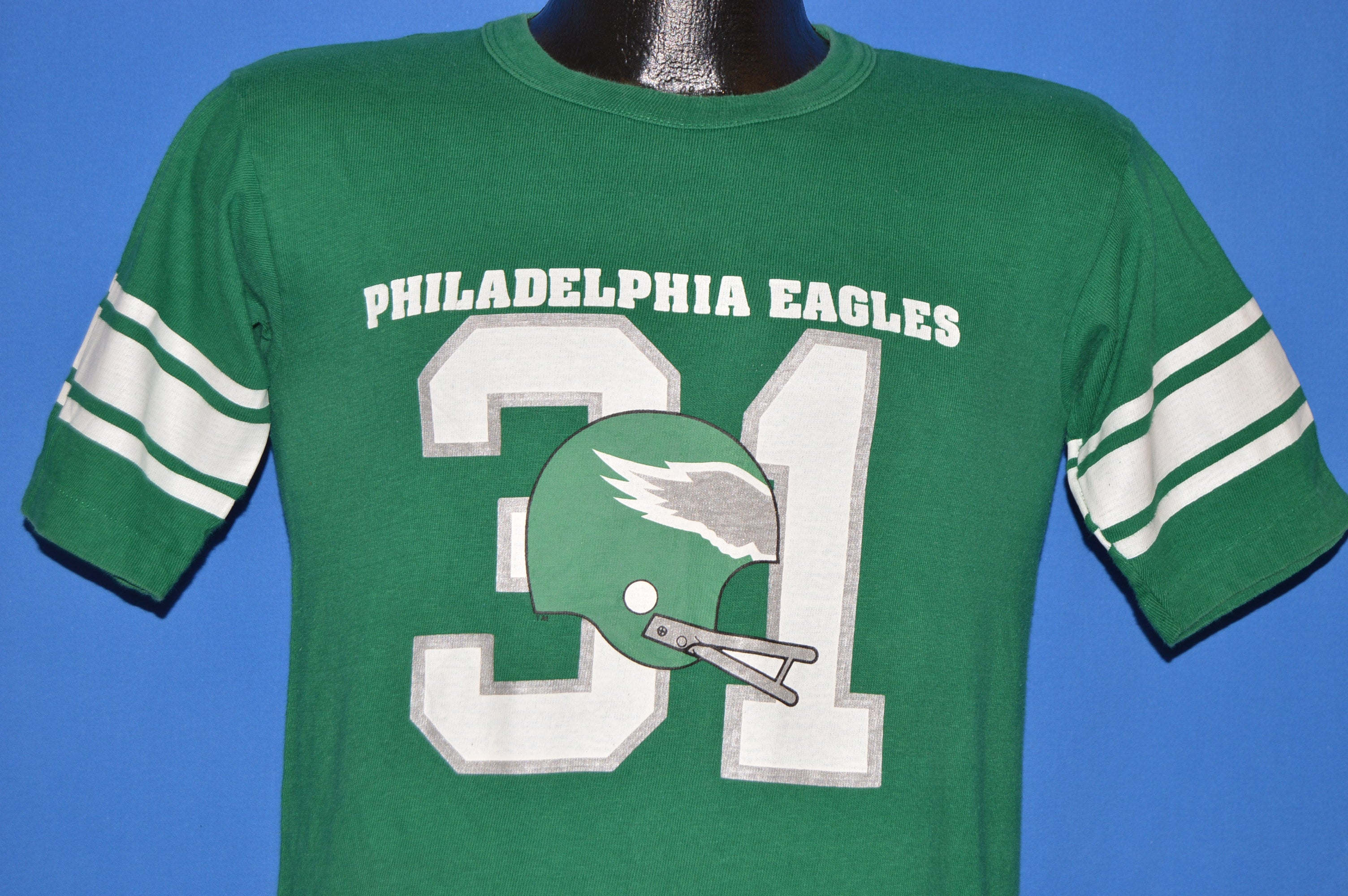 official photos d8a28 85a1c 70s Philadelphia Eagles #31 Kelly Green Jersey t-shirt Small ...