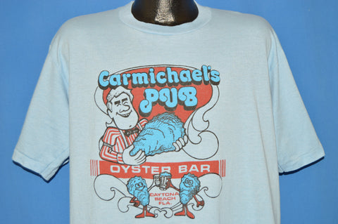 80s Carmichael's Pub Oyster Bar t-shirt Extra Large