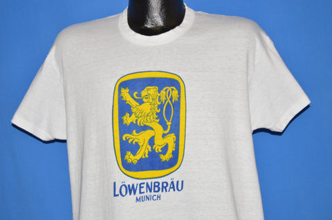 70s Lowenbrau Beer Munich Germany t-shirt Large