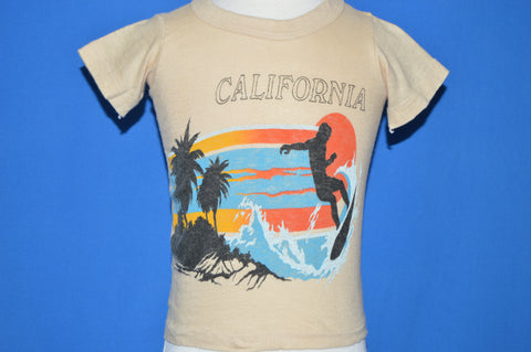 80s California Sunset Surfer t-shirt Toddler 2T