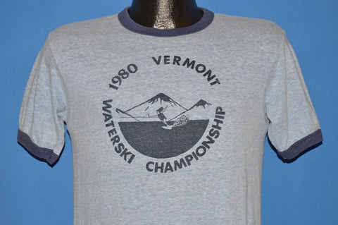 80s Ski Vermont W.S.A 1980 Water Skiing t-shirt Small