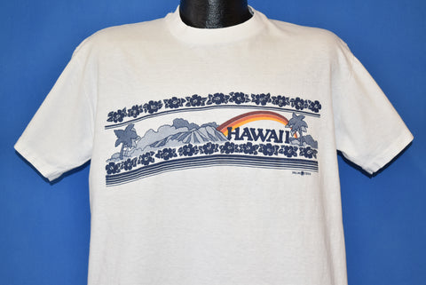 90s Hawaii Hibiscus Flowers Tourist t-shirt Extra Large