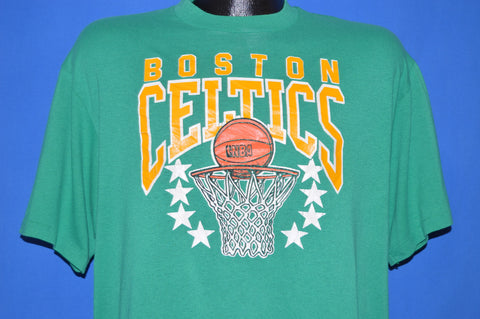 80s Boston Celtics Basketball t-shirt Large