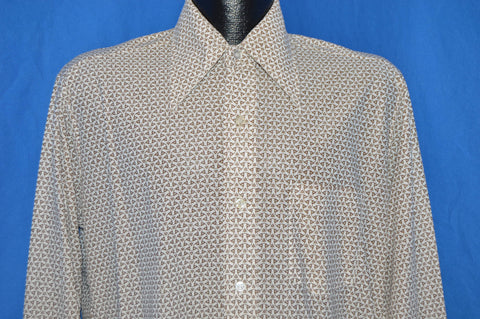 70s Prince Mathew Acetate Big Collar Disco shirt Medium