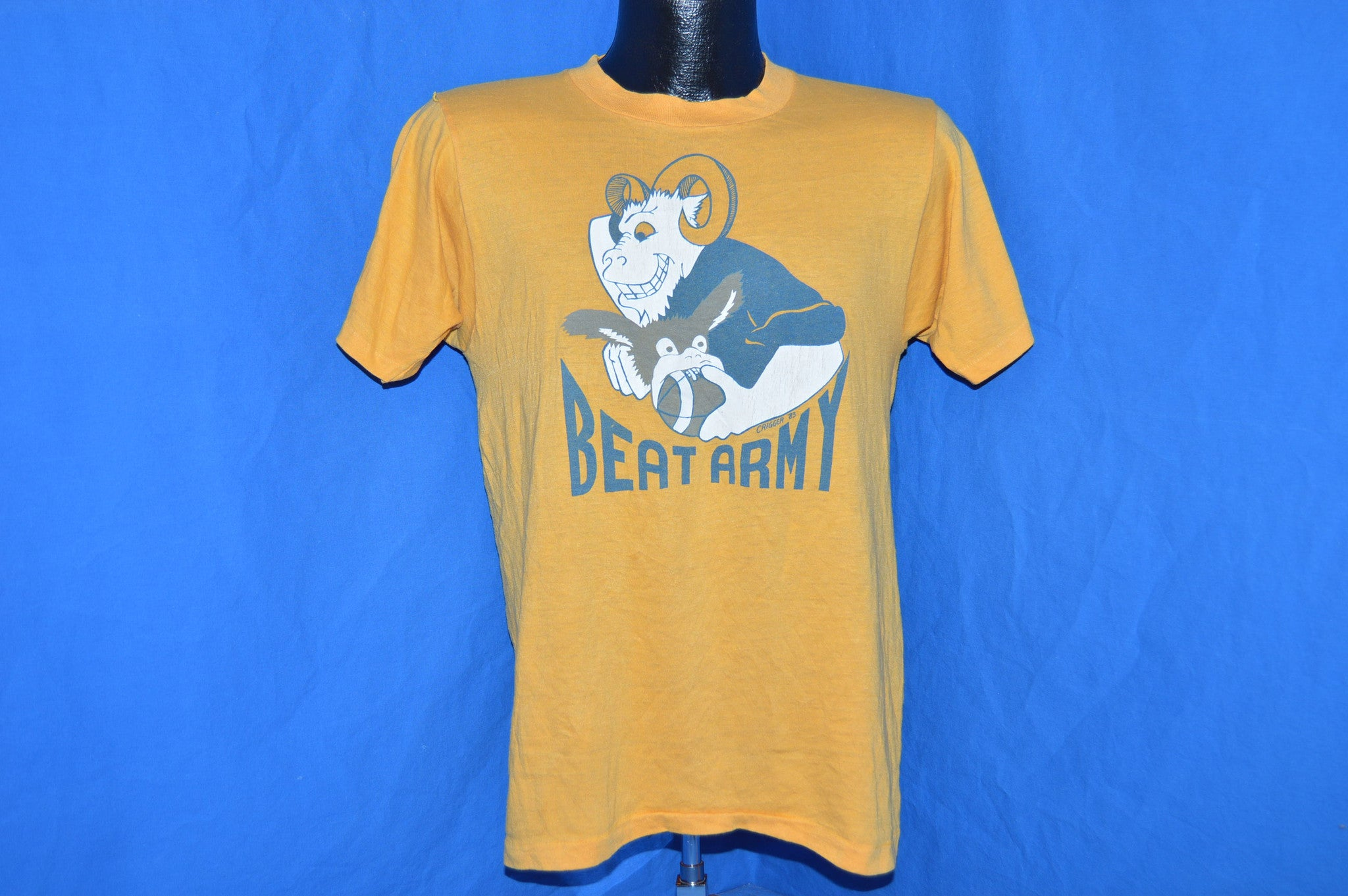 28a8c42a84d 70s Beat Army Navy Midshipmen Football t-shirt Small - The Captains ...