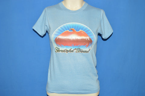 70s Grateful Dead 1979 Glitter iron On t-shirt Youth Large