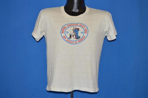 60s BSA Boy Scouts Jamboree Valley Forge t-shirt Medium