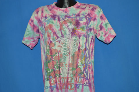 90s Grateful Dead Skulls And Roses Distressed t-shirt Medium