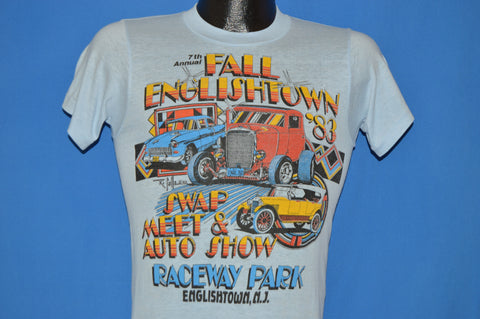 80s Fall Englishtown 1983 Swap Meet t-shirt Small