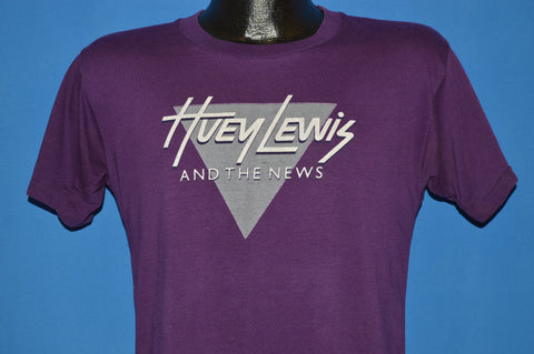 80s Huey Lewis and the News  Sports Tour t-shirt Small