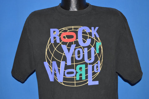 90s Rock Your World Rock And Roll t-shirt Extra Large