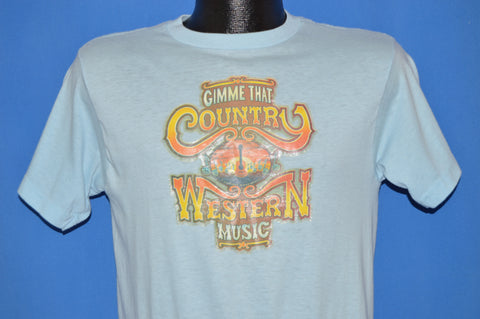 80s Gimme That Country Western Music t-shirt Medium