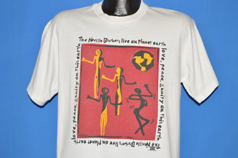 90s The Neville Brothers Live On Planet 1994 t-shirt Large