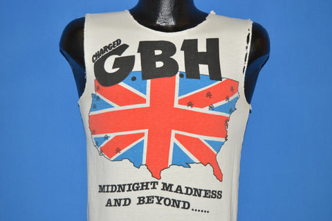 80s GBH Midnight Madness And Beyond Tour 1985 t-shirt Small