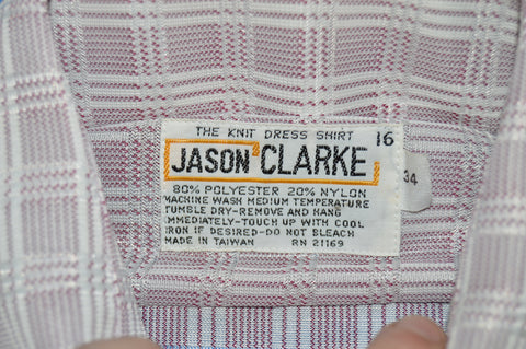 70s Jason Clarke Knit Deadstock Men's Disco t-shirt Large