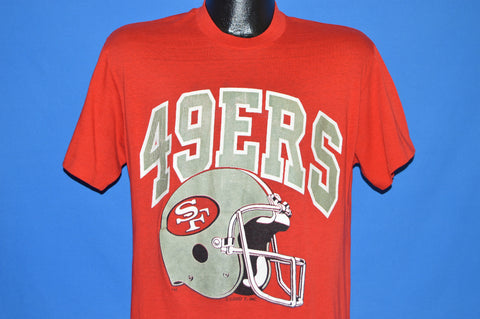80s San Francisco 49ers Helmet t-shirt Large