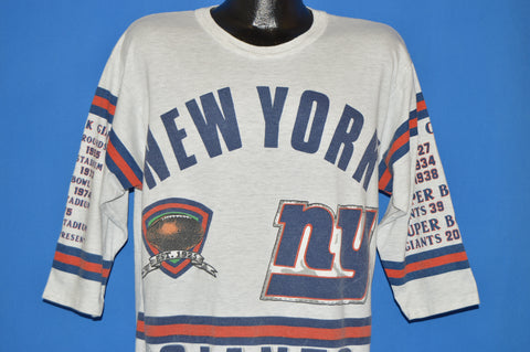 90s New York Giants Super Bowl 1934 t-shirt Large