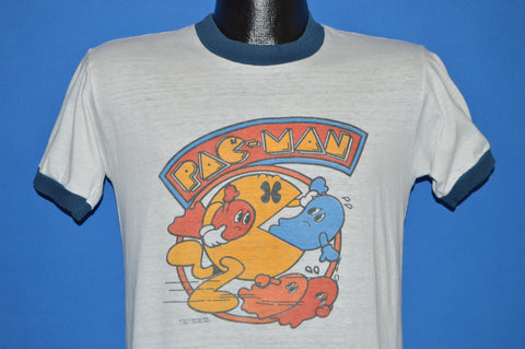 80s Pac Man Arcade Game Ringer t-shirt Medium