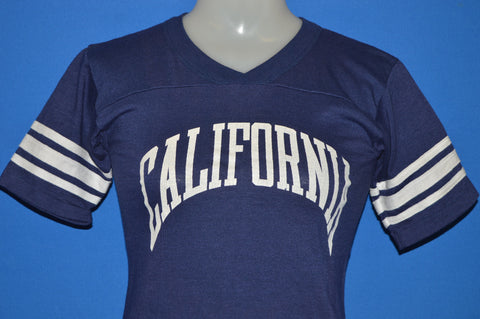 80s California Striped Jersey t-shirt Youth Large